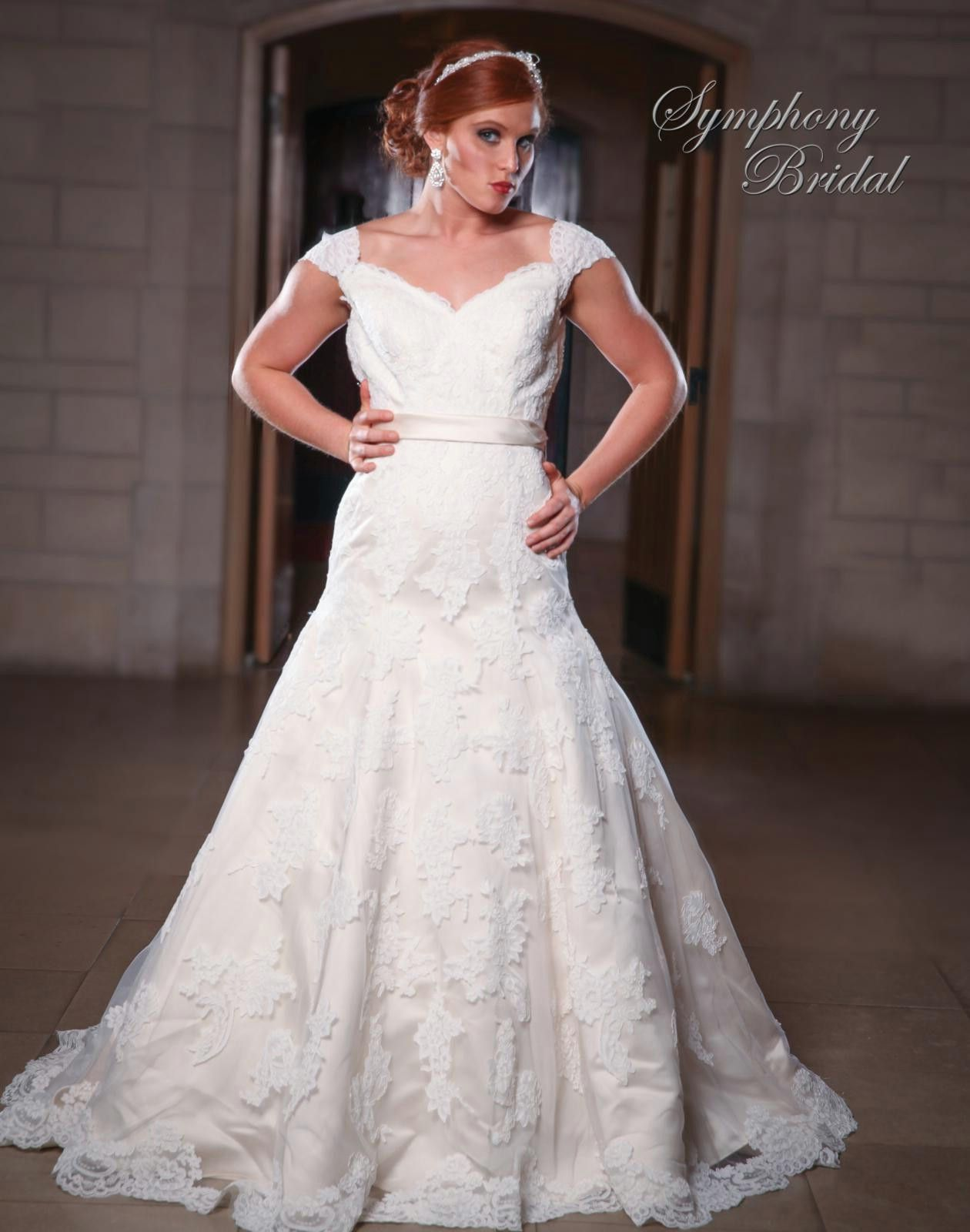 Symphony Wedding Dresses - Style S3423 [S3423] - $1,150.00 : Wedding ...