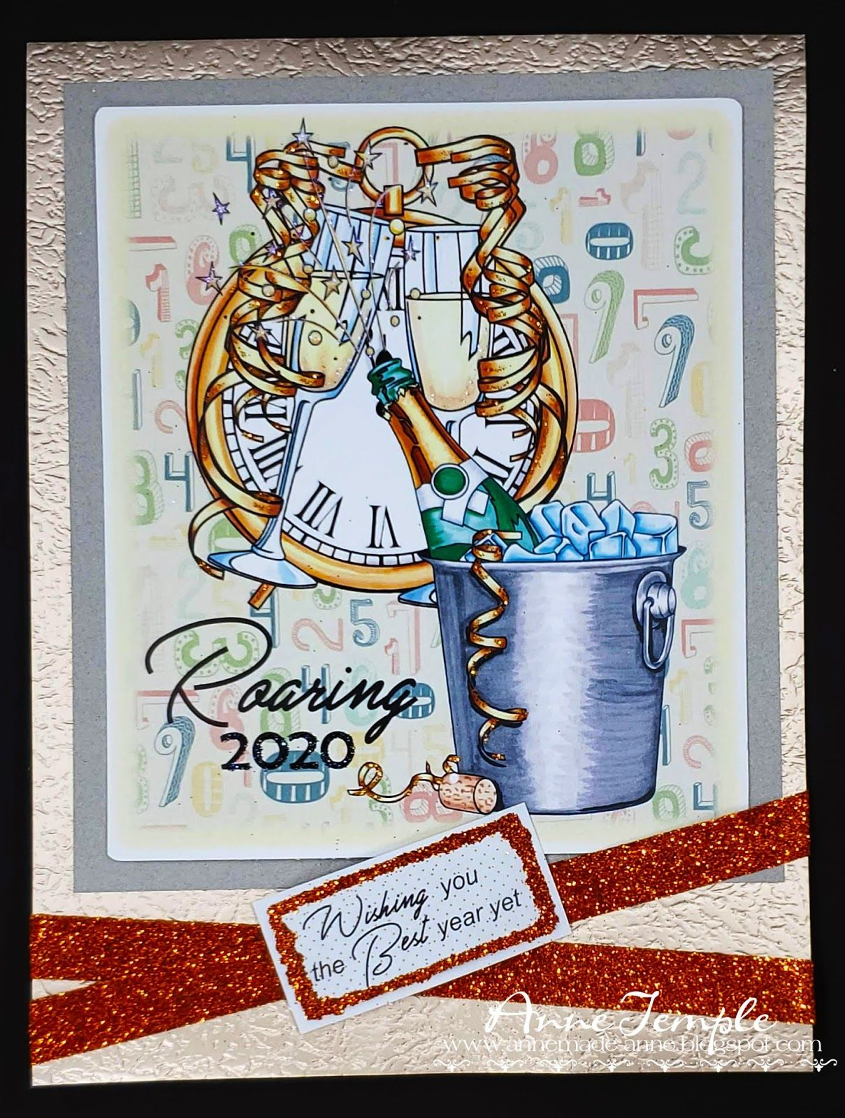 Happy New Year Card JDS Challenge 3 New year card