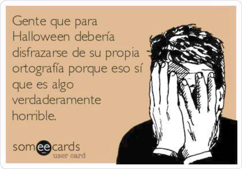 La Foto En La Receta Es Mucho Mas Atractiva Confesiones Y Realidades Blog For Spanish Teachers Halloween Memes Halloween Jokes Halloween Cartoons