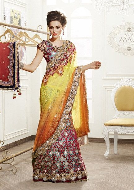 Harmonious Cut Style Ready To Wear Lehenga