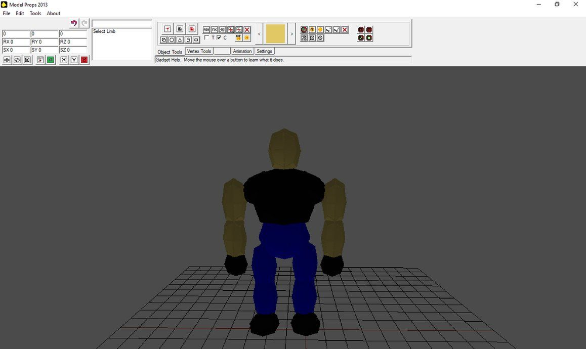 Biker Man by Model Props is a very easy 3d animation