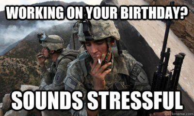 50 Happy Birthday Coffee Memes And Funny Images Working On Your