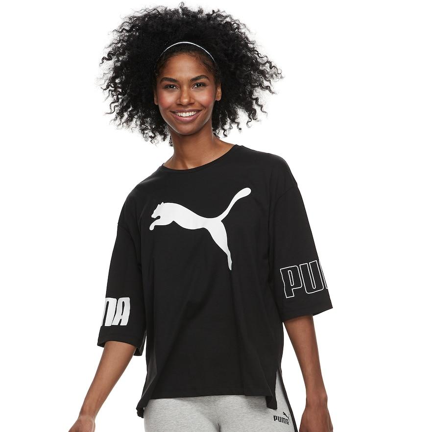 356c7616b Women's PUMA Modern Sport Logo Graphic Tee | Products | Sports logo ...