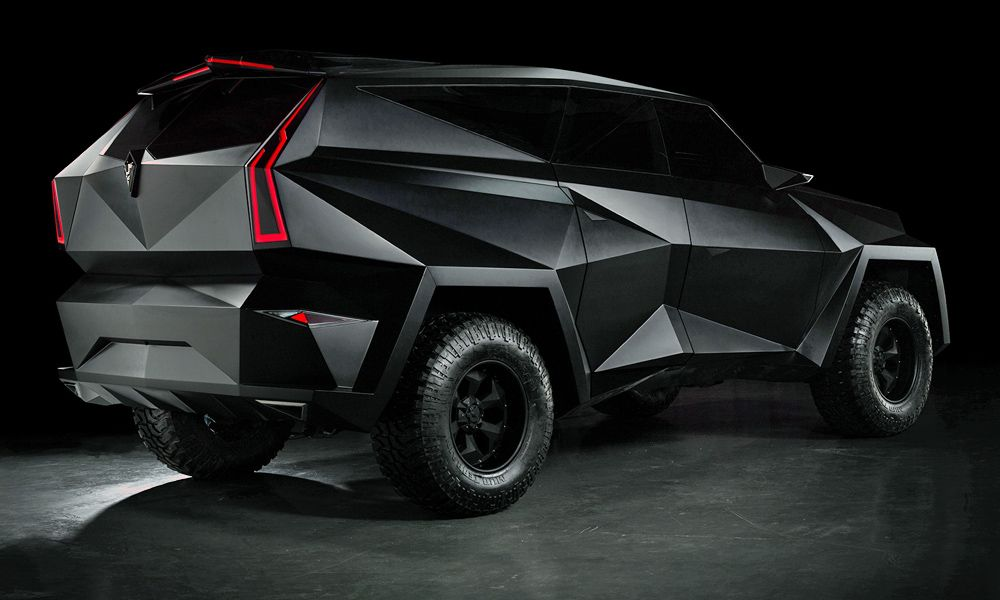 The 3 8 Million Karlmann King Ground Stealth Fighter Suv With