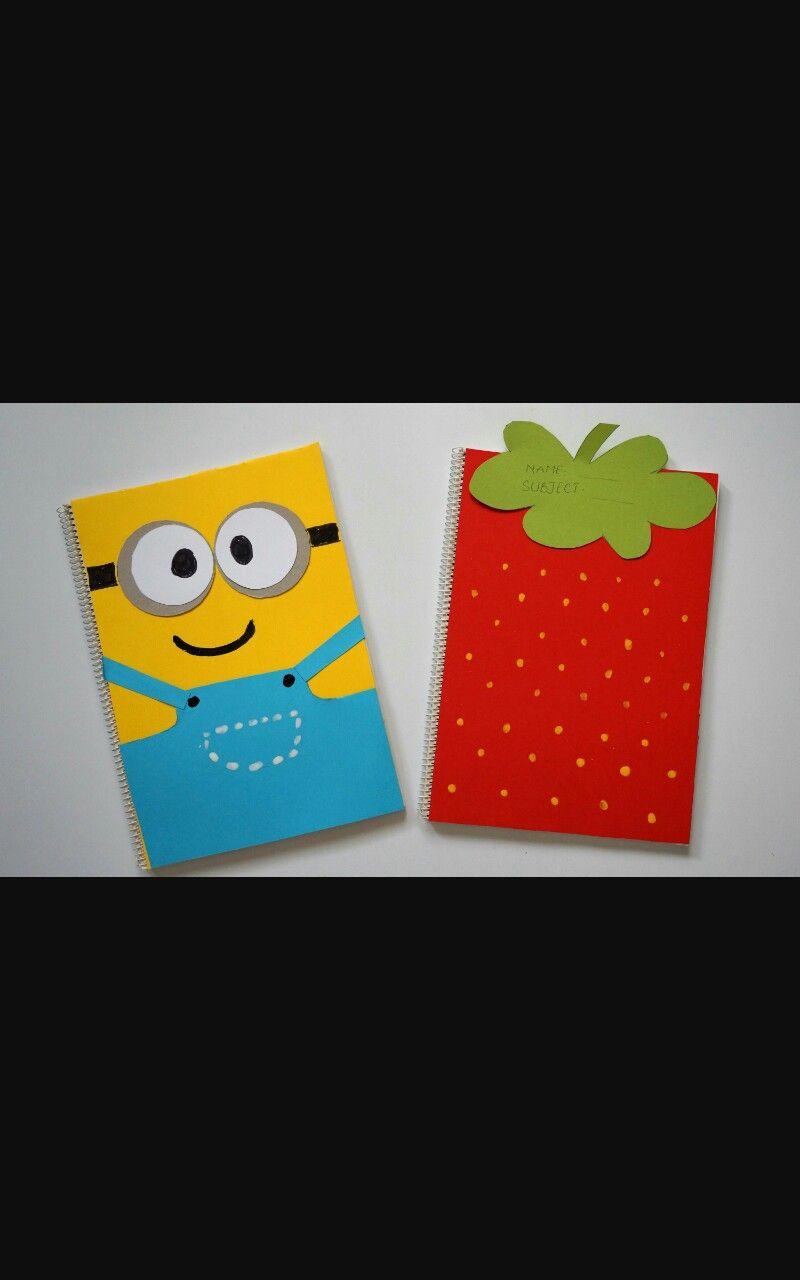 Pin By Abby Carpenter On Diy School Diy Notebook Cover Diy