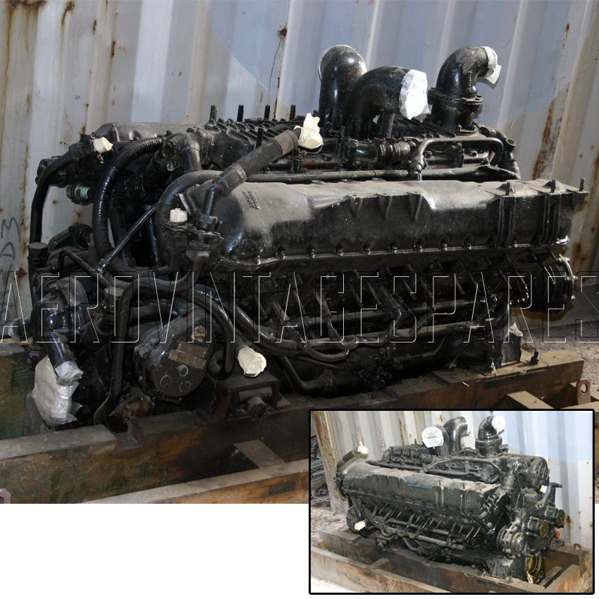Rolls Royce Meteor Centurion Tank Engine Engines