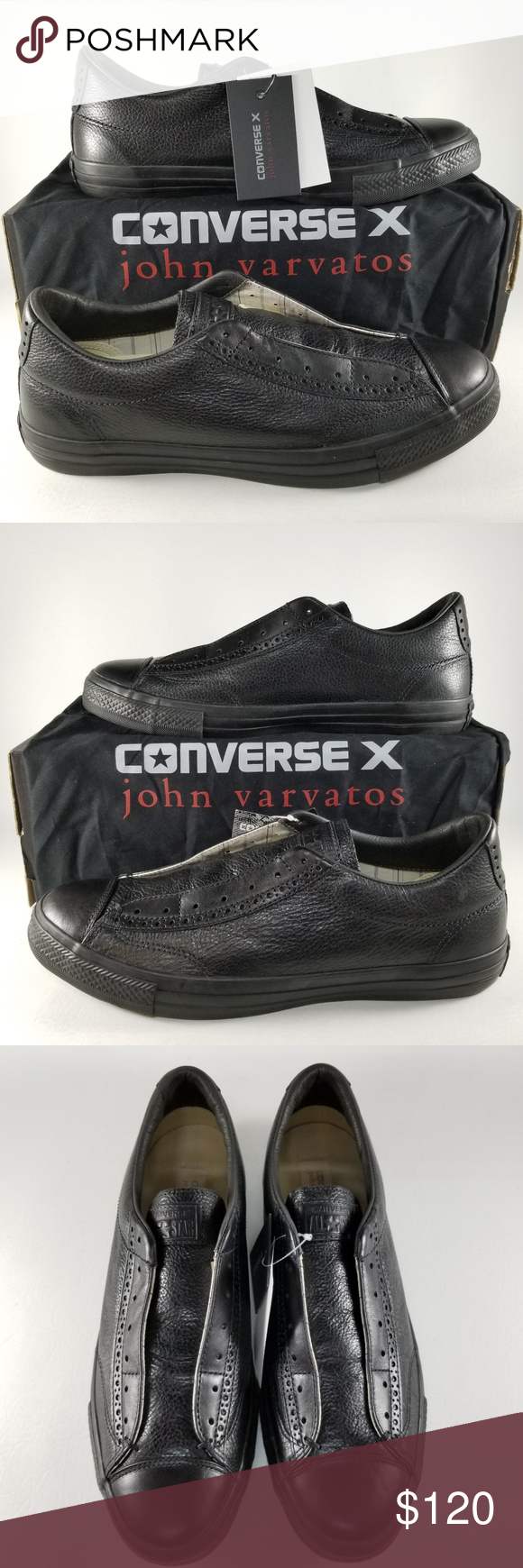 daea409ed595 Converse X John Varvatos CTAS Vintage Slip Mens 11 Converse X John Varvatos  CTAS Vintage Slip