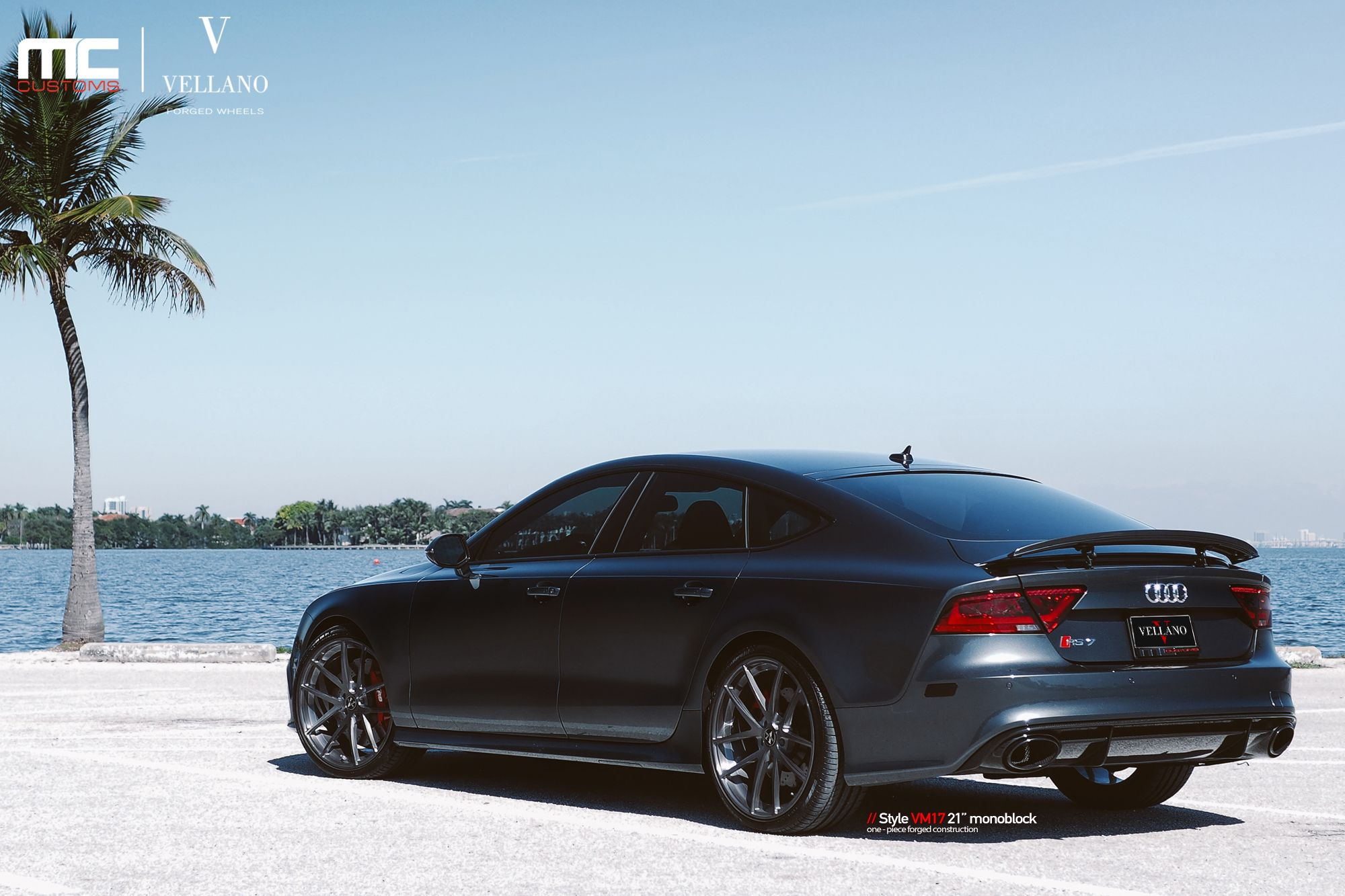 "check out this stunning Audi RS7 on Vellano VM17 21"" Monoblock"