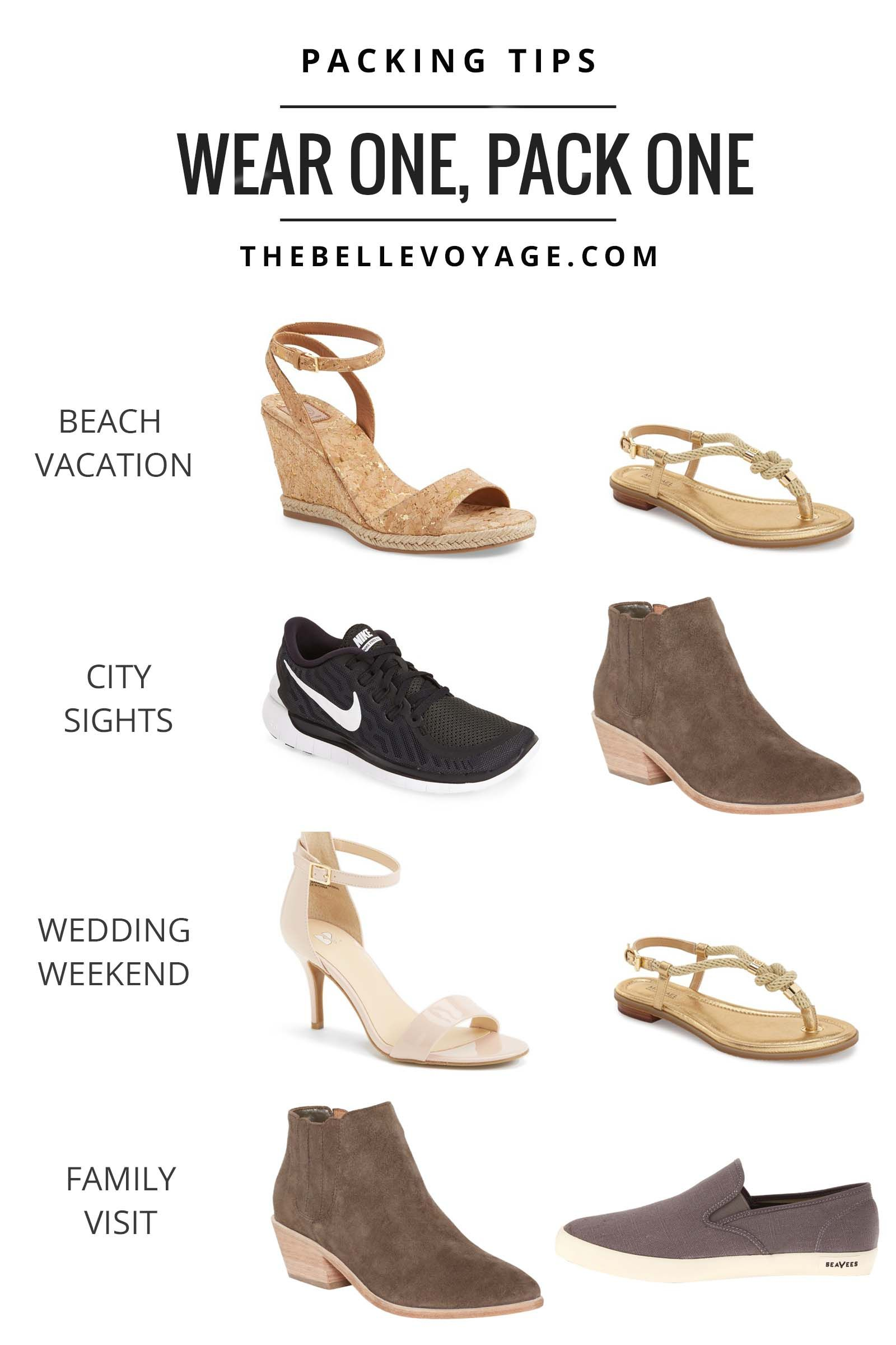 Packing Shoes for Travel | Travel shoes