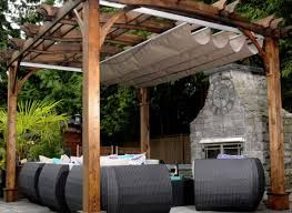 Awesome Retractable Gazebo Canopy
