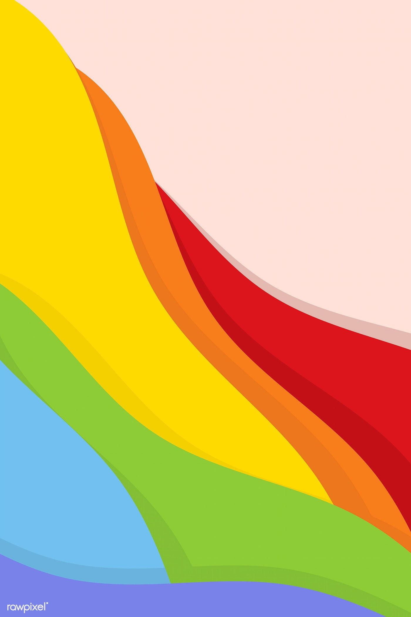 Download Premium Vector Of Support Lgbtq Pride Rainbow Background