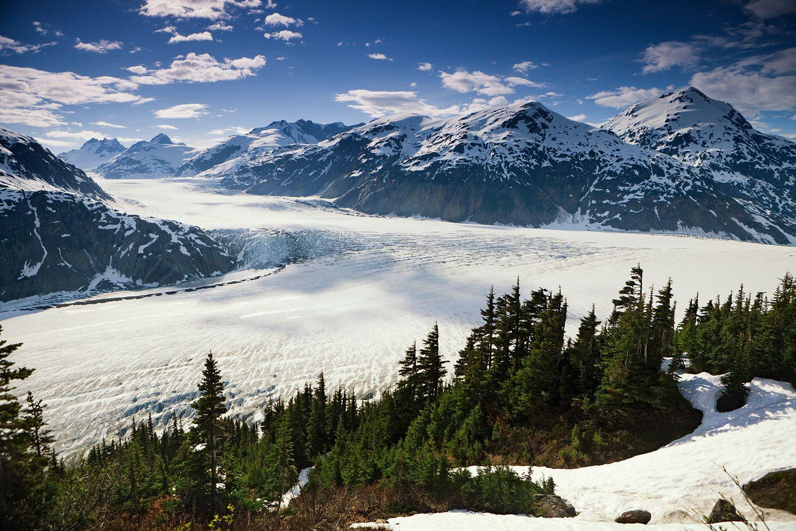 Salmon Glacier near Hyder Alaska I went