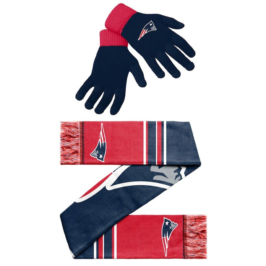 New England Patriots Gloves And Scarf Set New England Patriots Scarf Set Patriots Fans