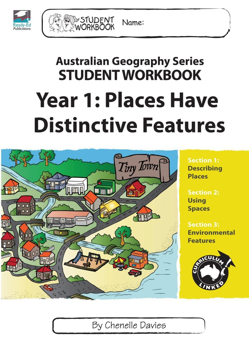 Australian Geography Series Workbook 1: Places Have Distinctive ...