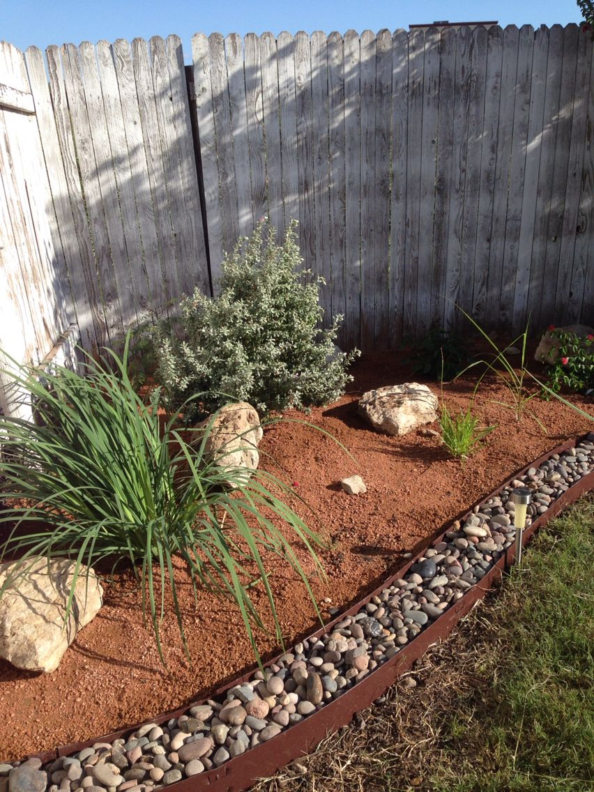 New garden bed in our yard! Texas gardening, using decomposed ...