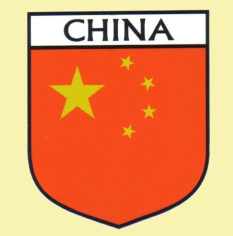 For everything genealogy china flag country flag china decals stickers set of 3 15 00