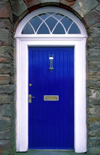 Excited About My Bright Blue Front Door Wish I Knew The Name Of