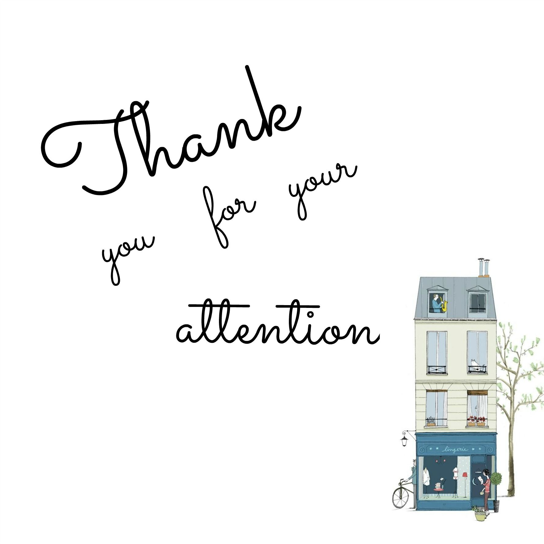 Thank You For Your Attention Fact Quotes Funny Wallpaper Thankful