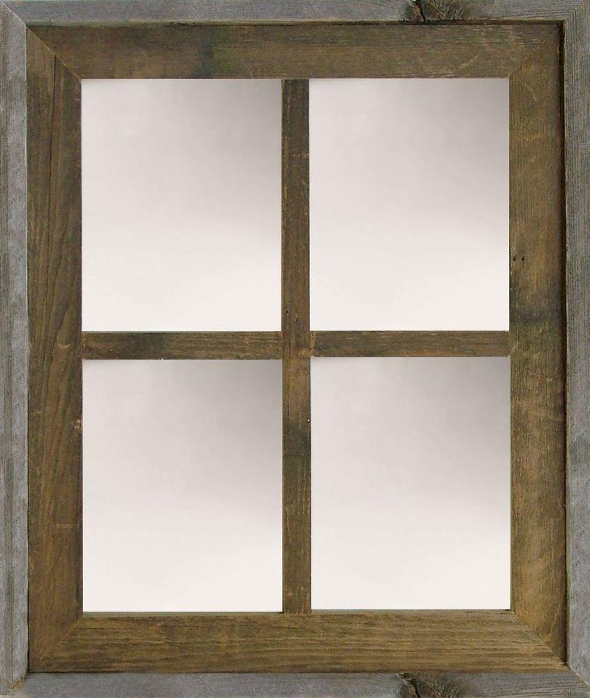 New rustic farmhouse 20x24 barn wood narrow window large for Narrow window