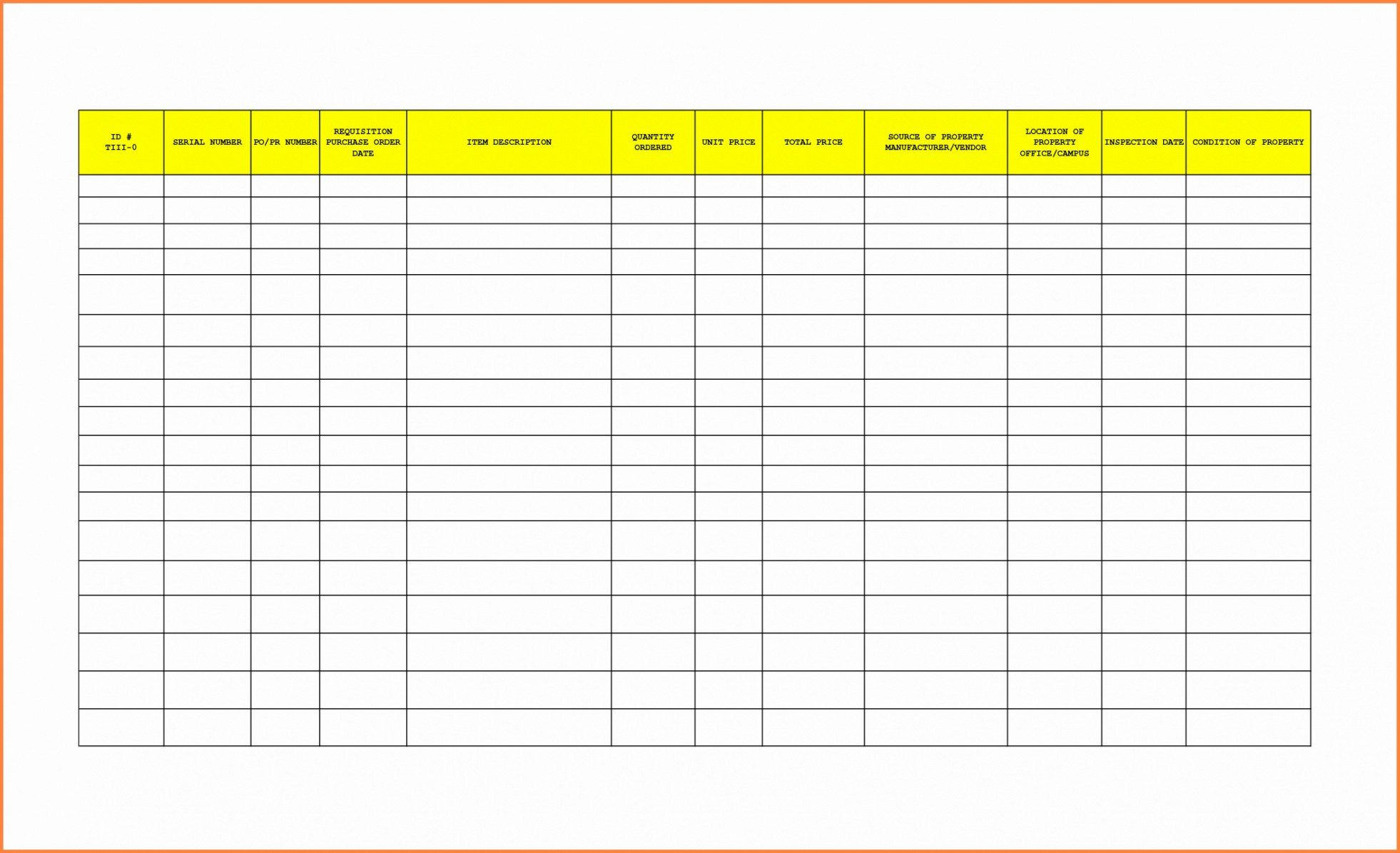 Editable Janitorial Supplies Inventory Template Doc Sample In 2021 Office Supplies Checklist Office Supplies List List Template Office supply inventory list template excel