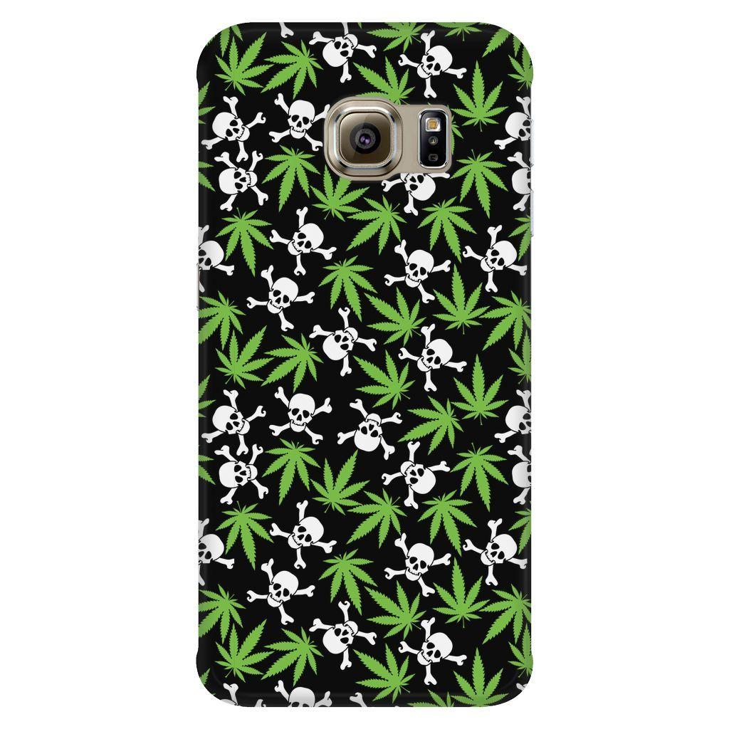 Leaf And Crossbones (Samsung Galaxy)