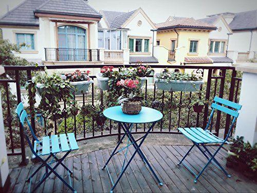 0ee94c342c5c Amazon.com : Grand patio Premium Steel Patio Bistro Set, Folding Outdoor  Patio Furniture