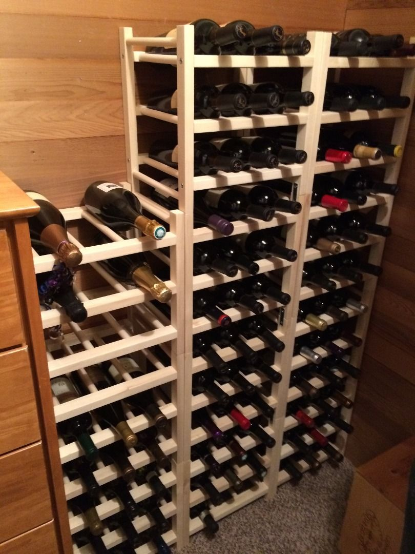 The Wine Cellar Of The Supports For Bottles Hutten Ikea More Info Https En Ikea Club Org Item 70032451 Html Cave A Vin Vin Cellier