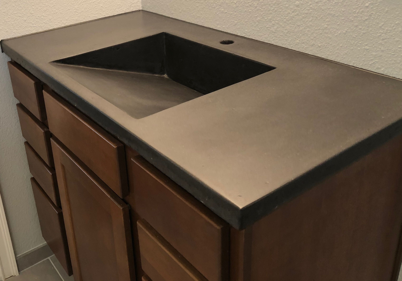 concrete design concrete bathroom