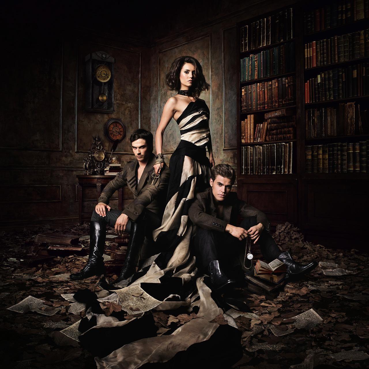 The Vampire Diaries Awesome Artwork Vampire Diaries Poster