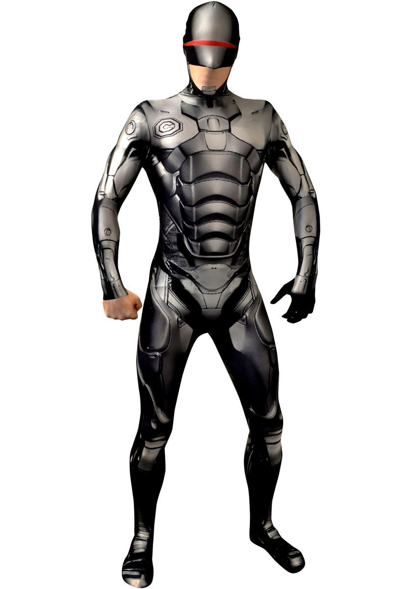 Quatang Gallery- Robocop Morphsuit Costume Superhero Costumes Escapade Uk Costumes De Super Heros Les Super Heros Seconde Peau