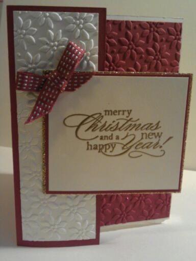 fancy folds card class so much fun - Fancy Christmas Cards