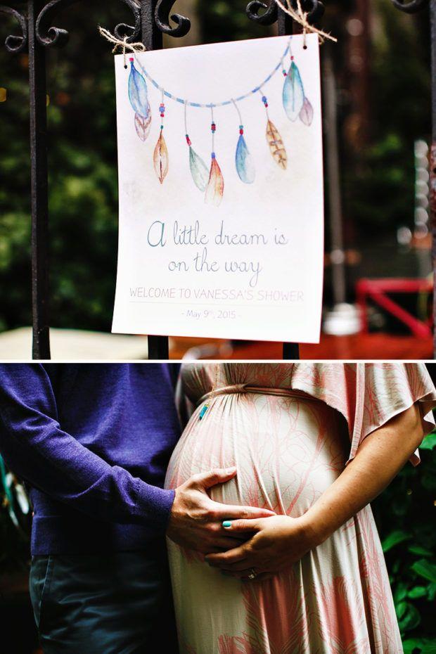 Sedona Style Tribal Dreamcatcher Inspired Baby Shower Baby Stunning Dream Catcher Baby Shower Decorations