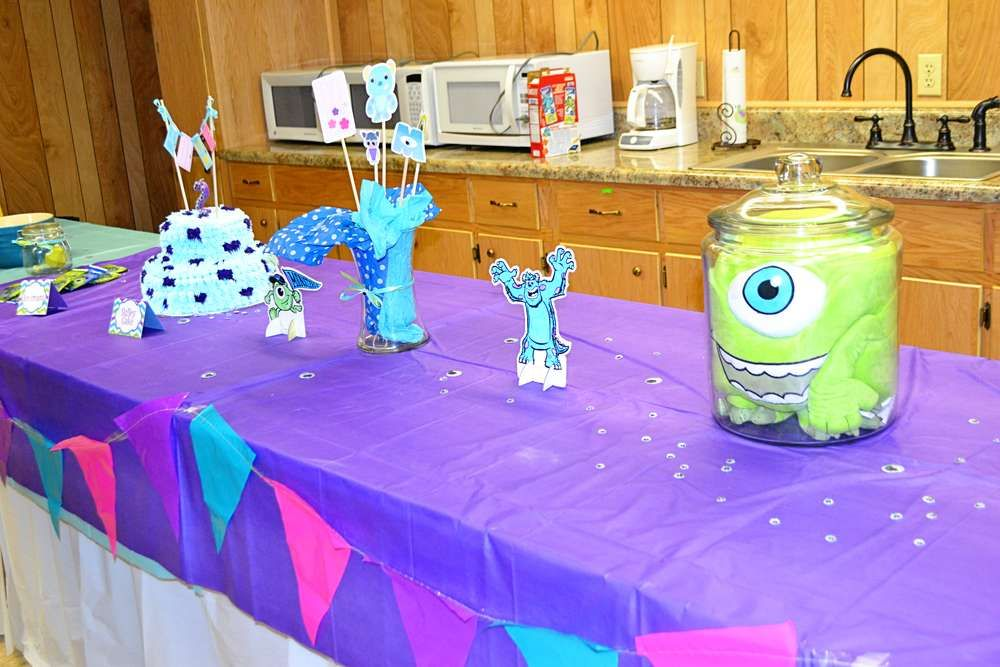monsters inc Birthday Party Ideas Monsters Birthday party ideas