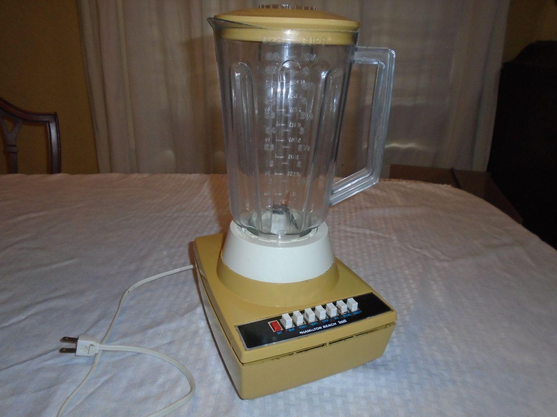 Vintage Hamilton Beach Blender . Blender . Retro Blender . 7 speed blender by Montyhallsshowcase on Etsy