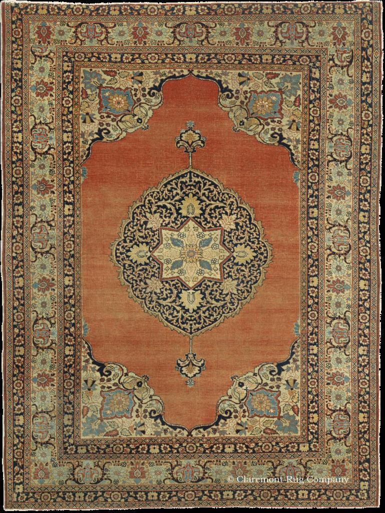 Hadji Jallili Tabriz Persian Rug Claremont Rug Company Persian Rug Designs Rugs Antique Persian Rug