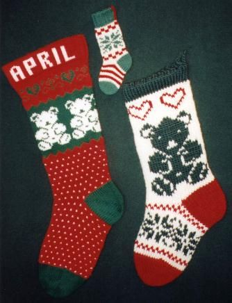 Outstanding Free Knitted Christmas Stocking Patterns Pattern Easy