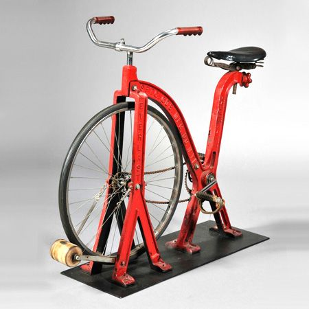 Andrew Spindler Antiques Exercise Bike By Everlast Bike