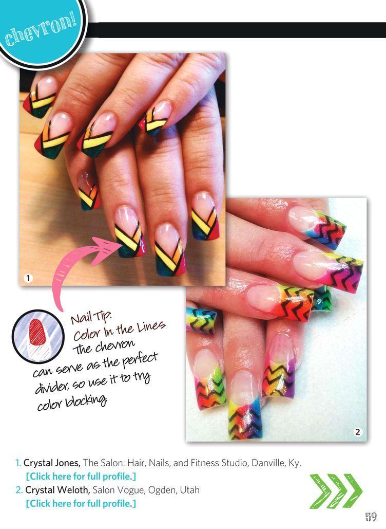 Nail Art Gallery Magazine - JUN-JUL 2013 | nAiLs | Pinterest ...