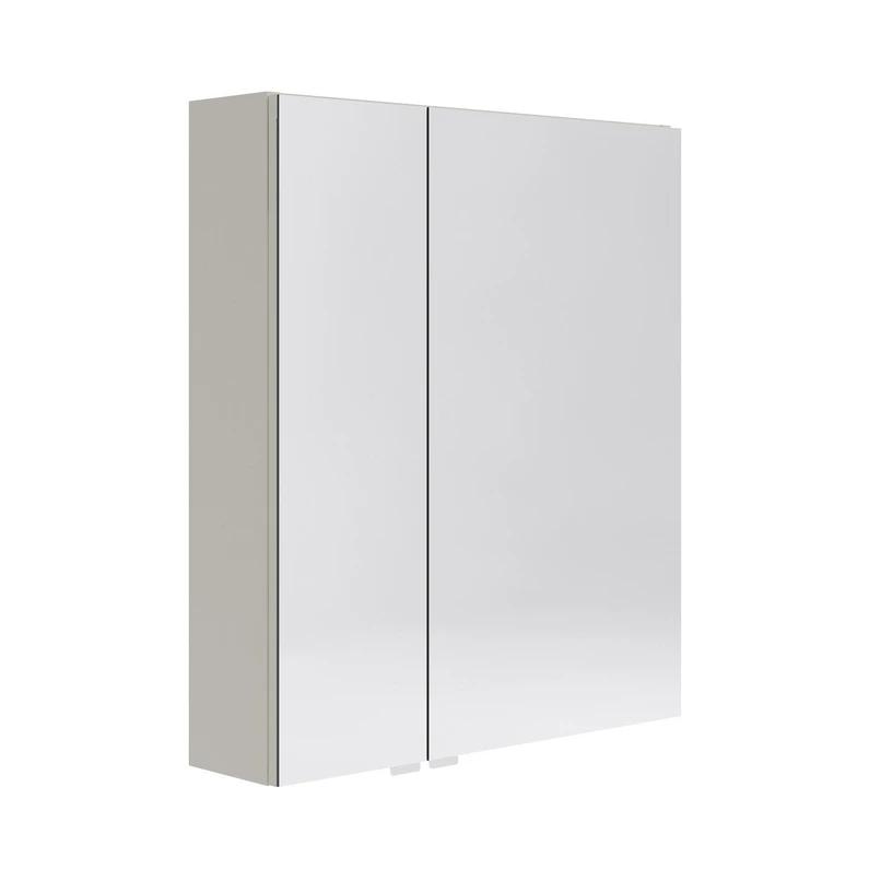 Armoire De Toilette L 60 Cm Beige Opale Armoire De Toilette Toilettes Armoire