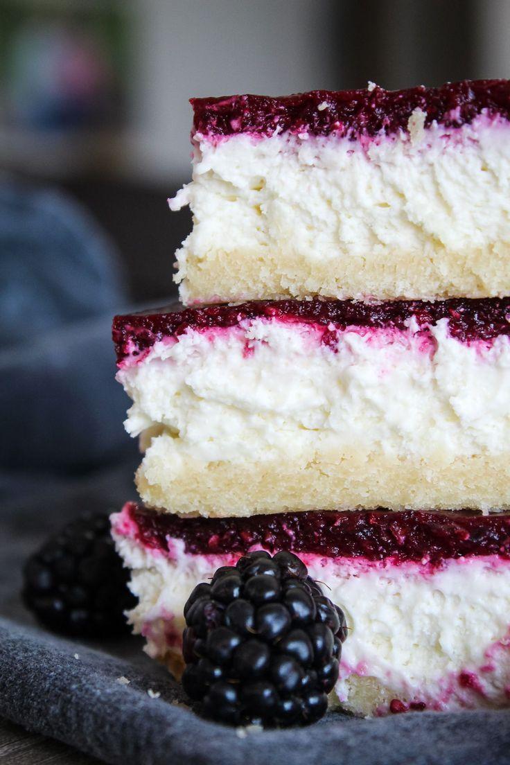 Keto Blackberry Cheesecake Bars (Blackberry Bliss Bars) – Fit Mom Journey