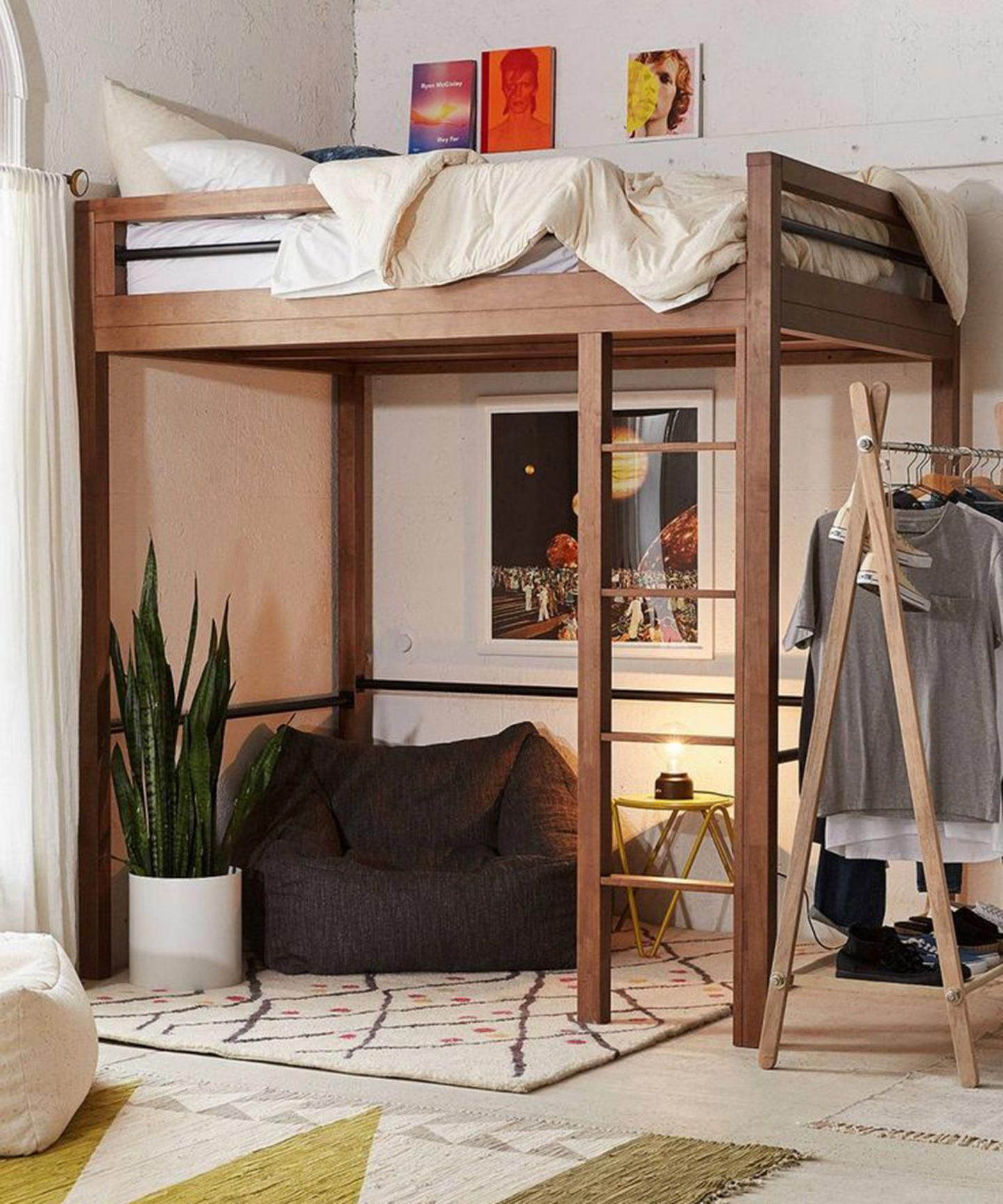 Best Lofted Beds For Adults - Queen Size Loft Bed Ideas #kidsbedroom