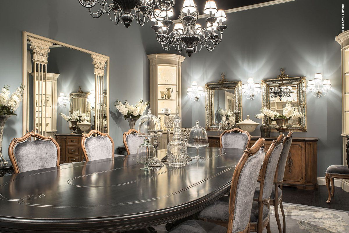 Have a seat and relax, this welcoming dining table SAVIO FIRMINO ...