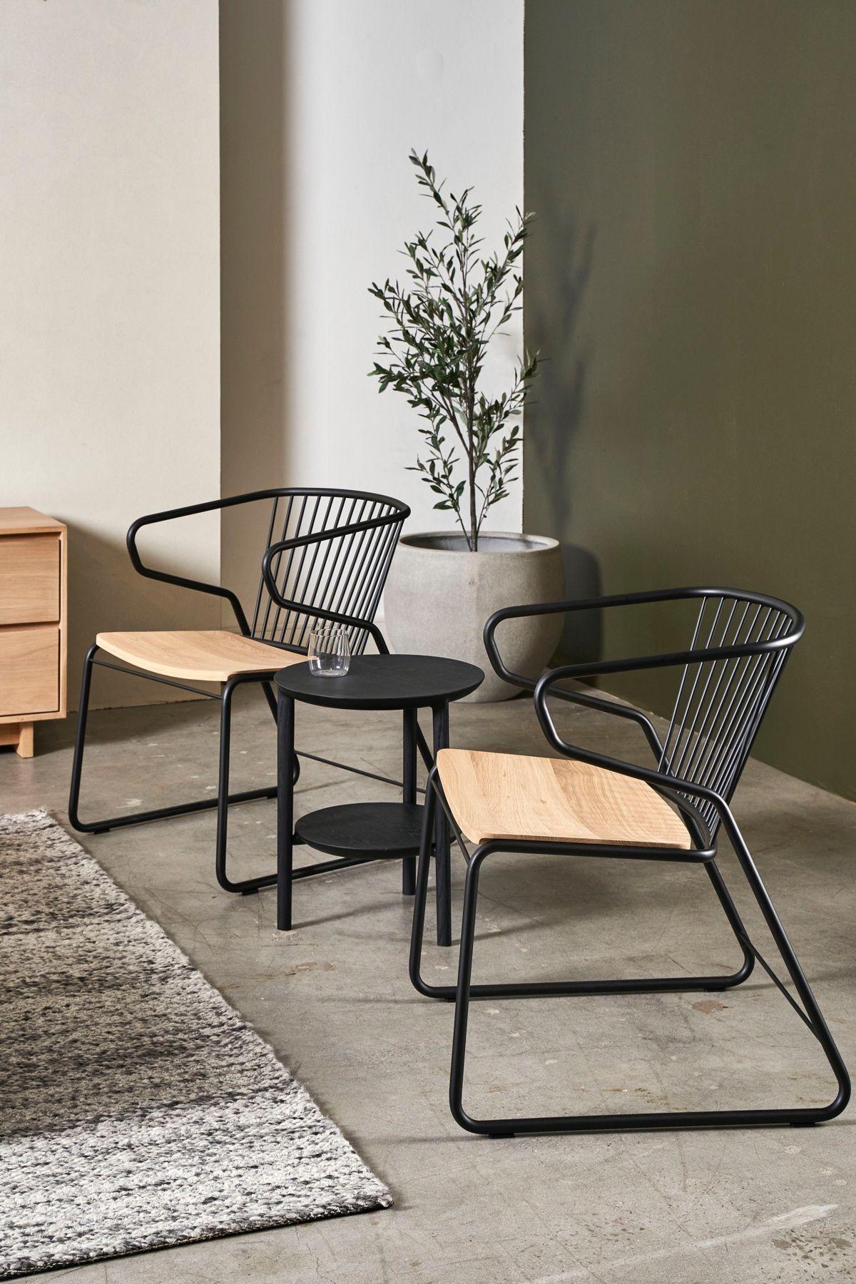 Ethnicraft Gabbia Lounge Chair