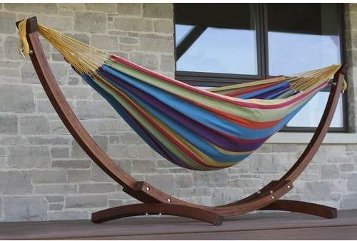 Vivere Hammocks Cotton Hammock with Stand   EVerYThiNG fOr sALe     Vivere Hammocks Cotton Hammock with Stand