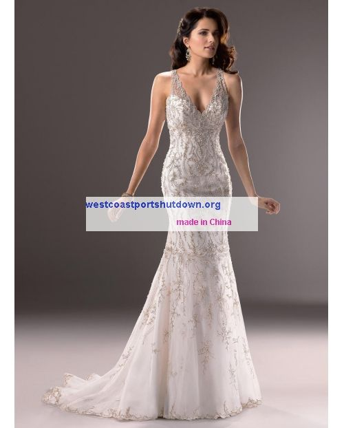 Dramatic Flair Of Straps Maggie Sottero Blakely-3MS734