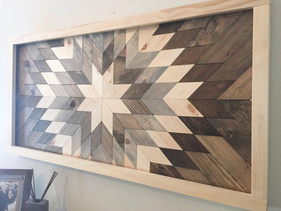 Reclaimed wood wall art, wood art,wood wall decor, modern wall decor, barn wood decor, farmhouse decor