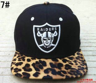 girls raiders hat leopard  9417ed102f4