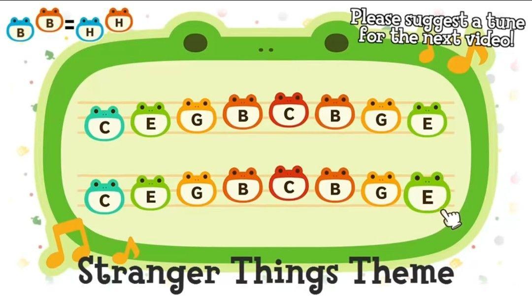 Stranger Things Theme In 2020 Animal Crossing Animal Crossing Town Tune Animal Crossing Music