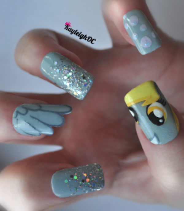 My Little Pony, Game Of Thrones And Monsters, Inc. Nail Art   Cute ...