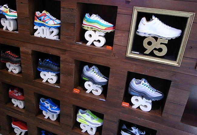 Nike Air Max Display at atoms Tokyo.
